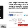 Tarjeta [Alerta Trato] PNY 128 GB MicroSD $ 79.99 después del descuento instantáneo, Otras Memorias Flash también a la venta desde TigerDirect